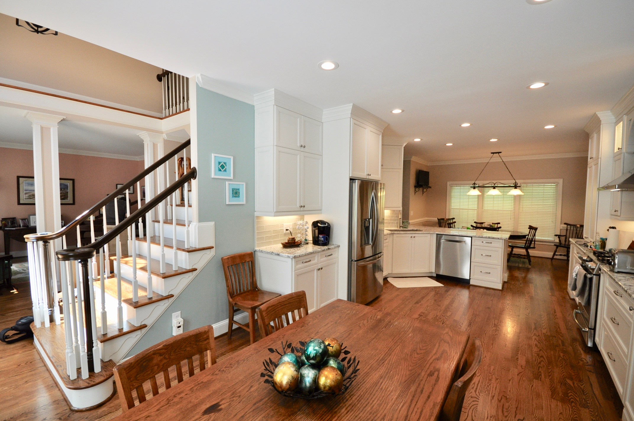 Dining room remodel by Riverbirch Remodeling