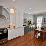 Completed Kitchen and Dining room remodel by Benchmark Remodel