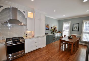 Completed Kitchen and Dining room remodel by Riverbirch Remodeling