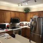 BEFORE pictures of a kitchen remodel by Riverbirch Remodeling
