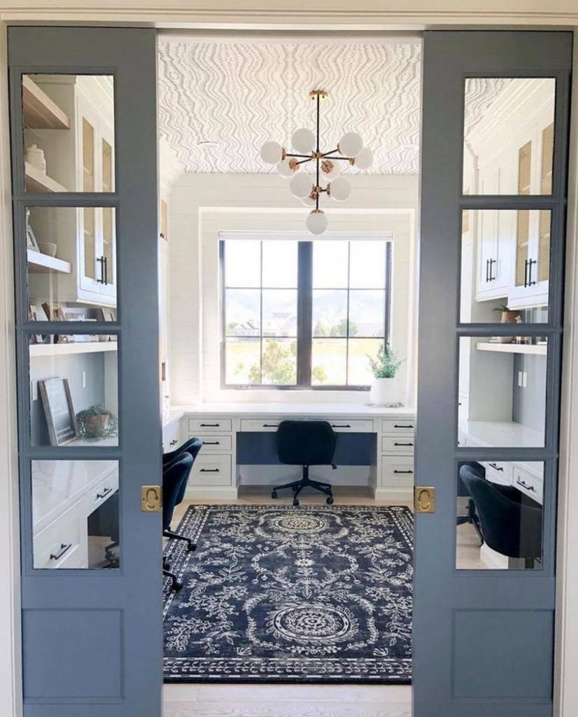 Home Office Build by Riverbirch Remodeling of Raleigh NC