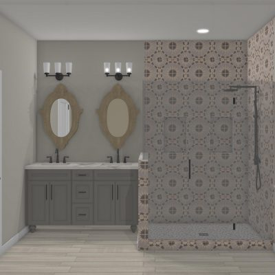 Riverbirch Remodeling - The Grove View Master Bathroom Luxury Design