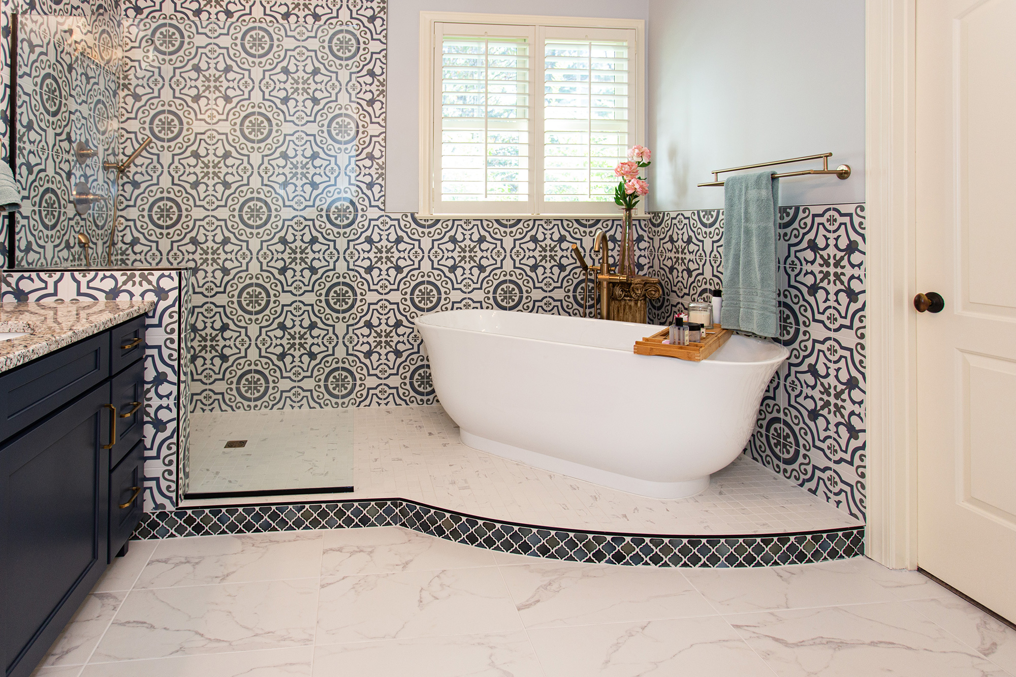 Benchmark Design Remodel Bathroom Remodel Cary NC