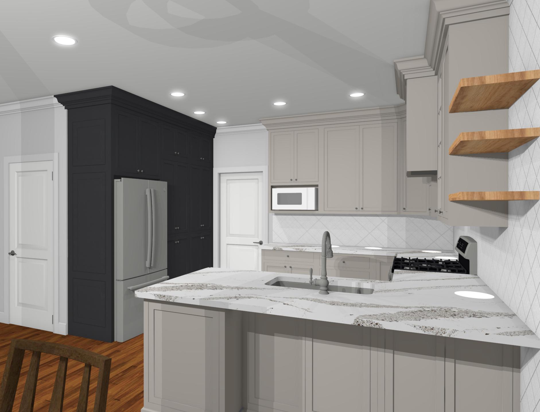 Riverbirch Remodeling Kitchen Remodel 3D design