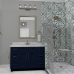 Riverbirch Remodeling of NC Master Bathroom Remodel