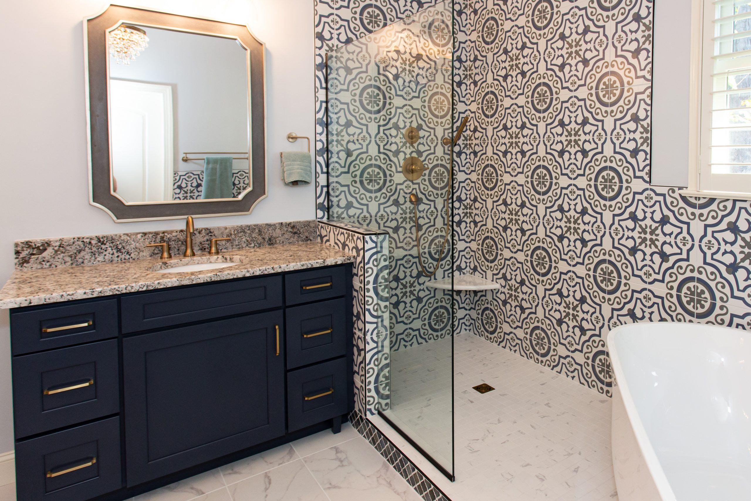 Riverbirch Remodeling NC Heritage Heights Master Bathroom Remodel