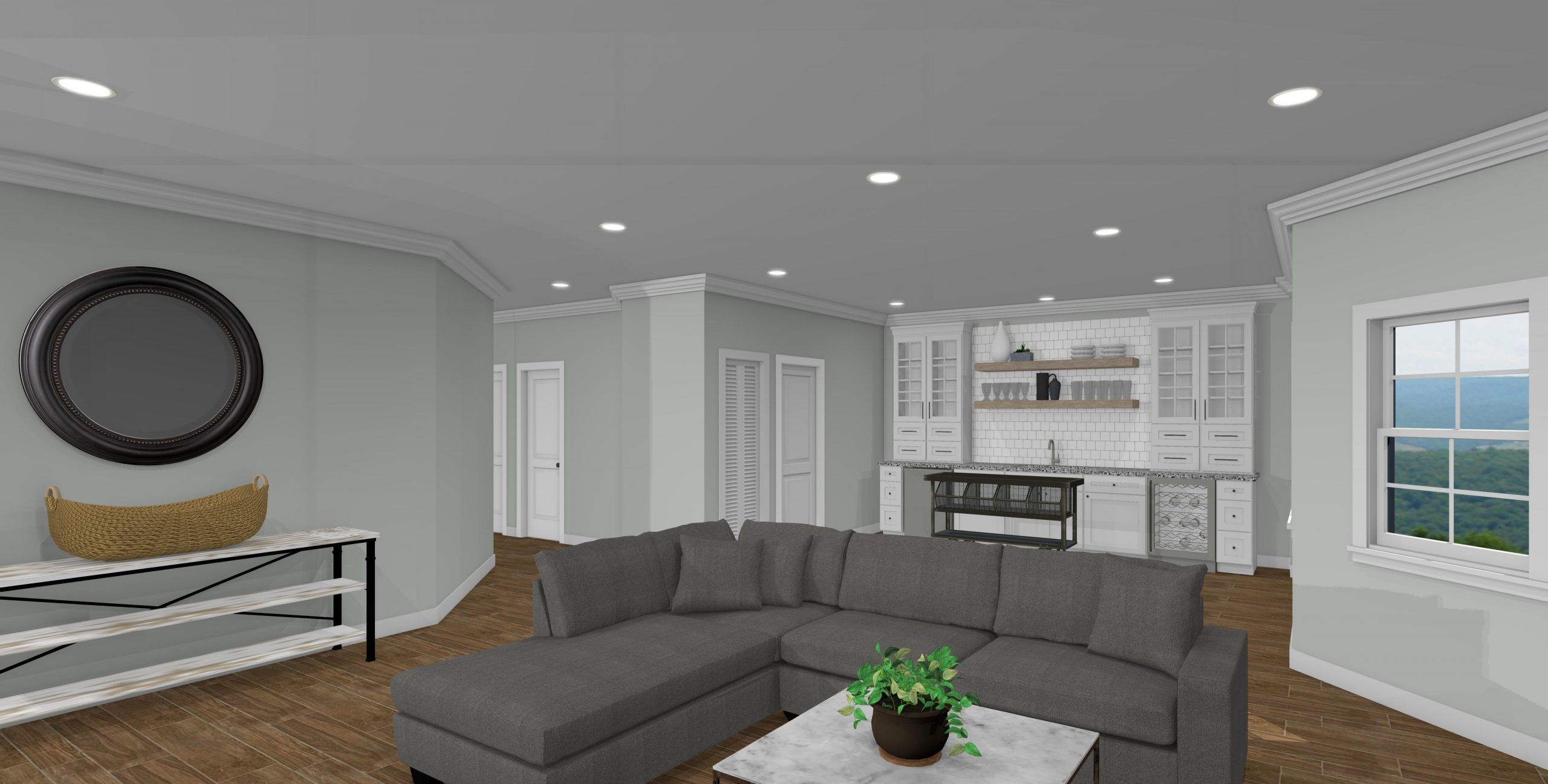 Riverbirch Remodeling of Raleigh Basement Designs