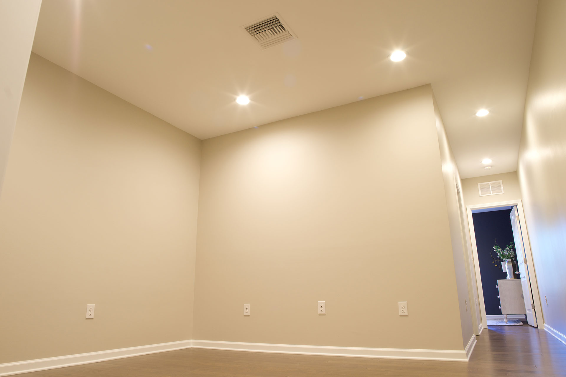 Finished basement sewing room Clayton NC