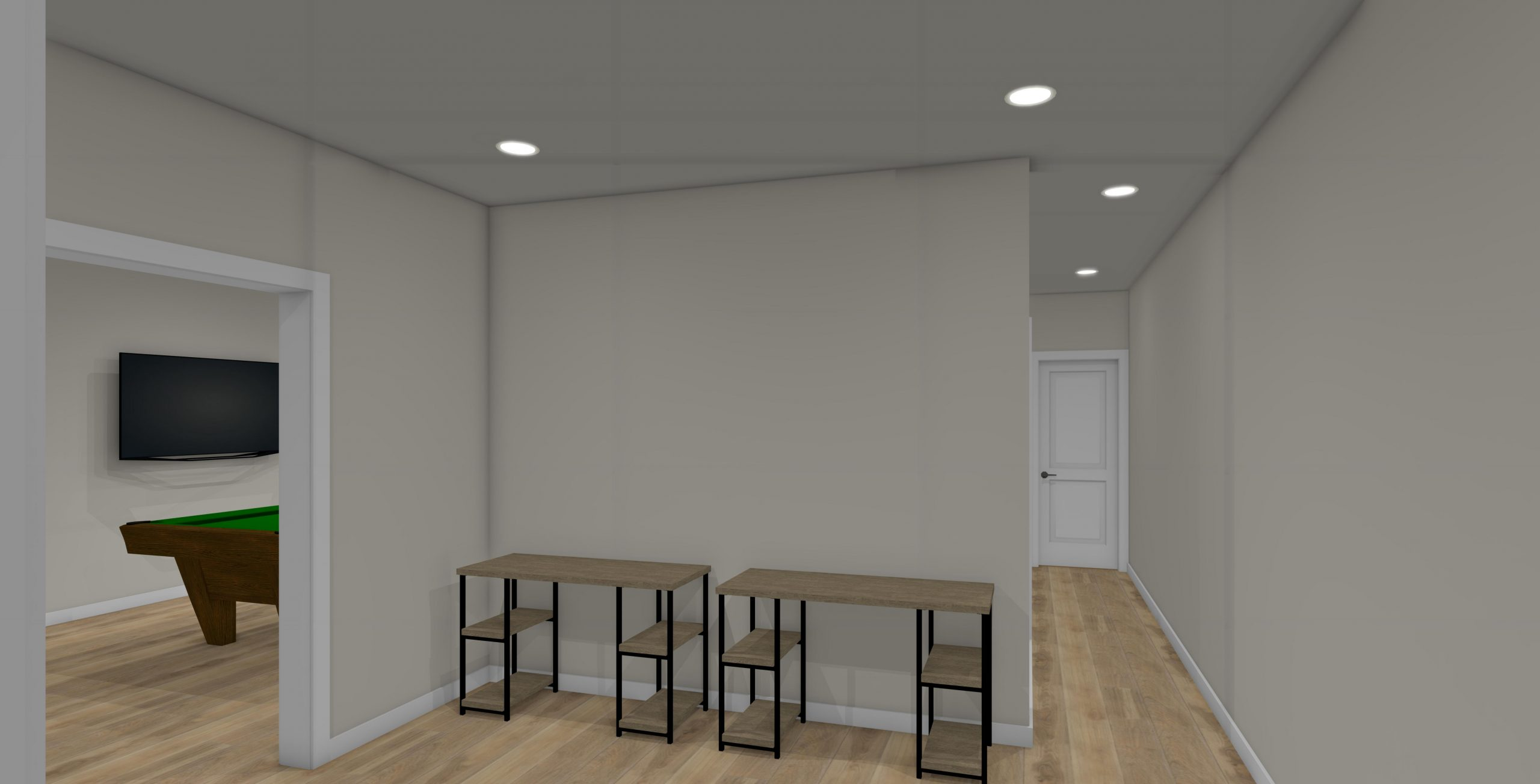 Sewing Room 3D Design View